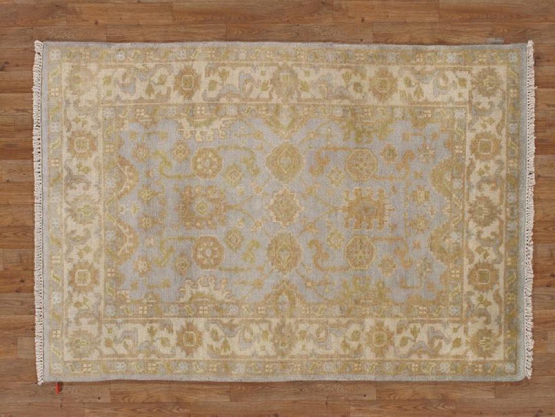 Handmade Oushak Area Rug 4x6