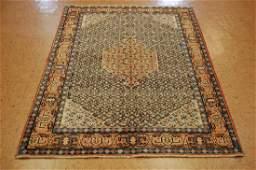 Antique Persian Sarouk Kork Wool Rug 4.4x6.5