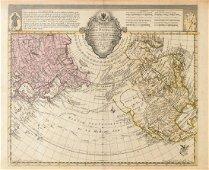 Sauerbrey: Maris Pacifici Map, 1753