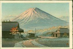 Kawase Hasui: Autumn in Funatsu, First Edition