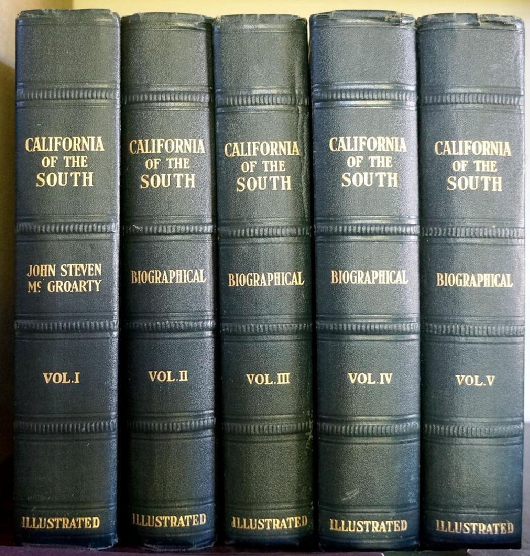 California of the South by John Steven McGroarty