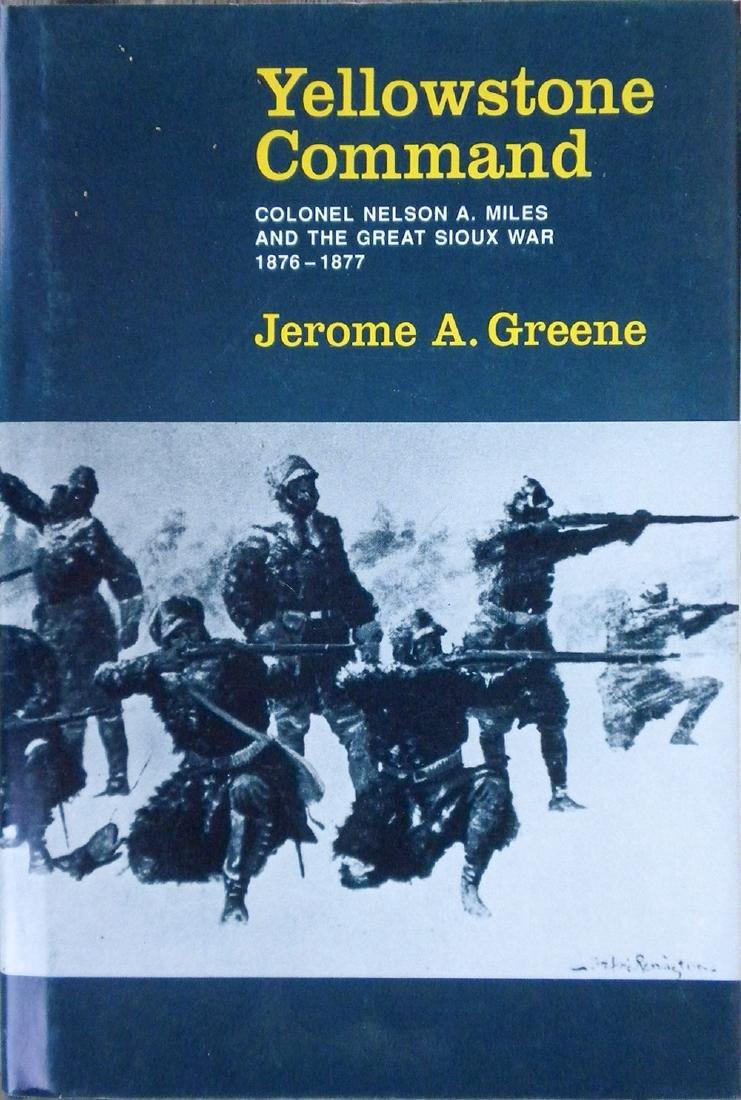 Yellowstone Command by Jerome A. Greene