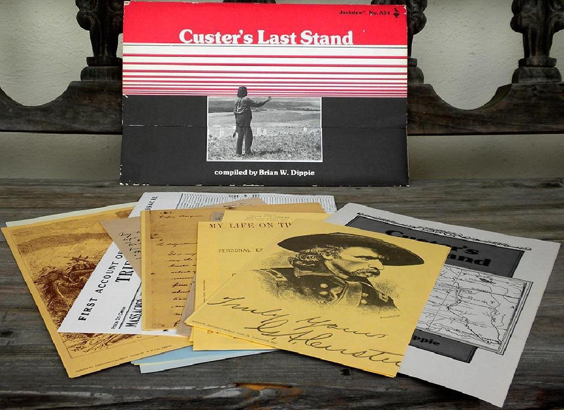 Custer's Last Stand Compiled by Brian W. Dippie 1977