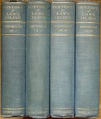 History of Long Island by Benjamin F. Thompson