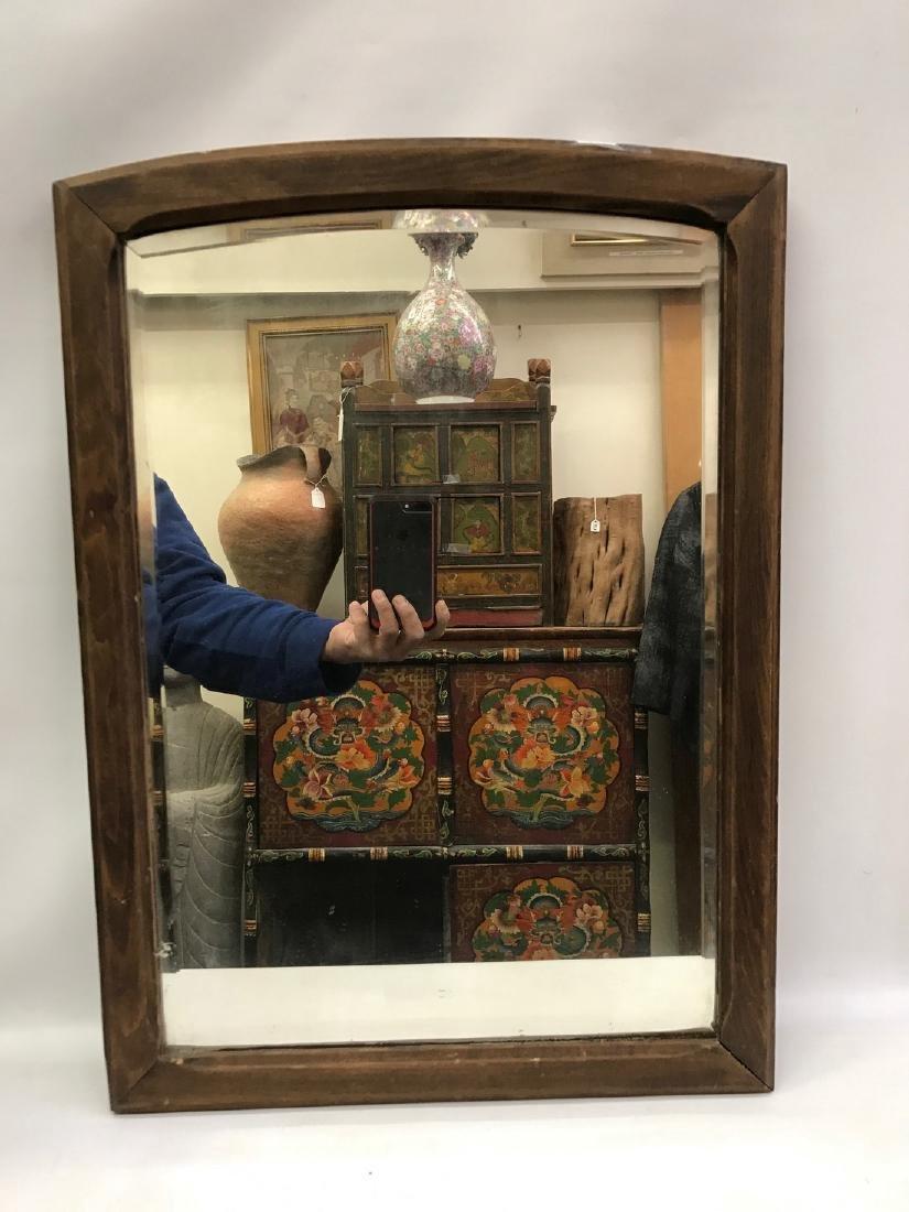 Vintage Framed Country Beveled Mirror