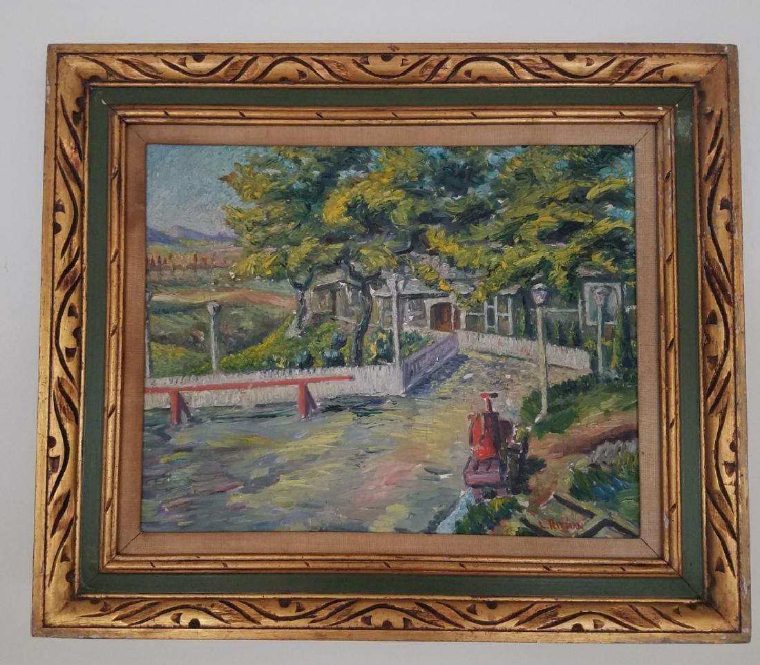 Louis Ritman Signed Oil On Canvas
