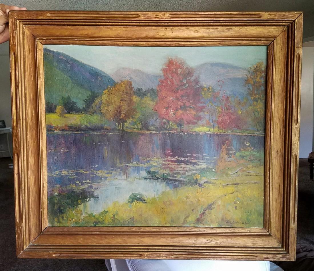 Homer G. Davisson: The Pond