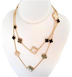 Van Cleef & Arpels Magic Alhambra 16 Motif Necklace