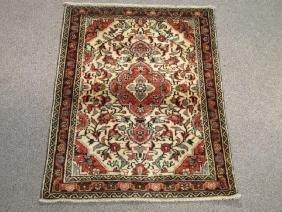 Semi Antique Persian Tabriz Wool Rug 3x4