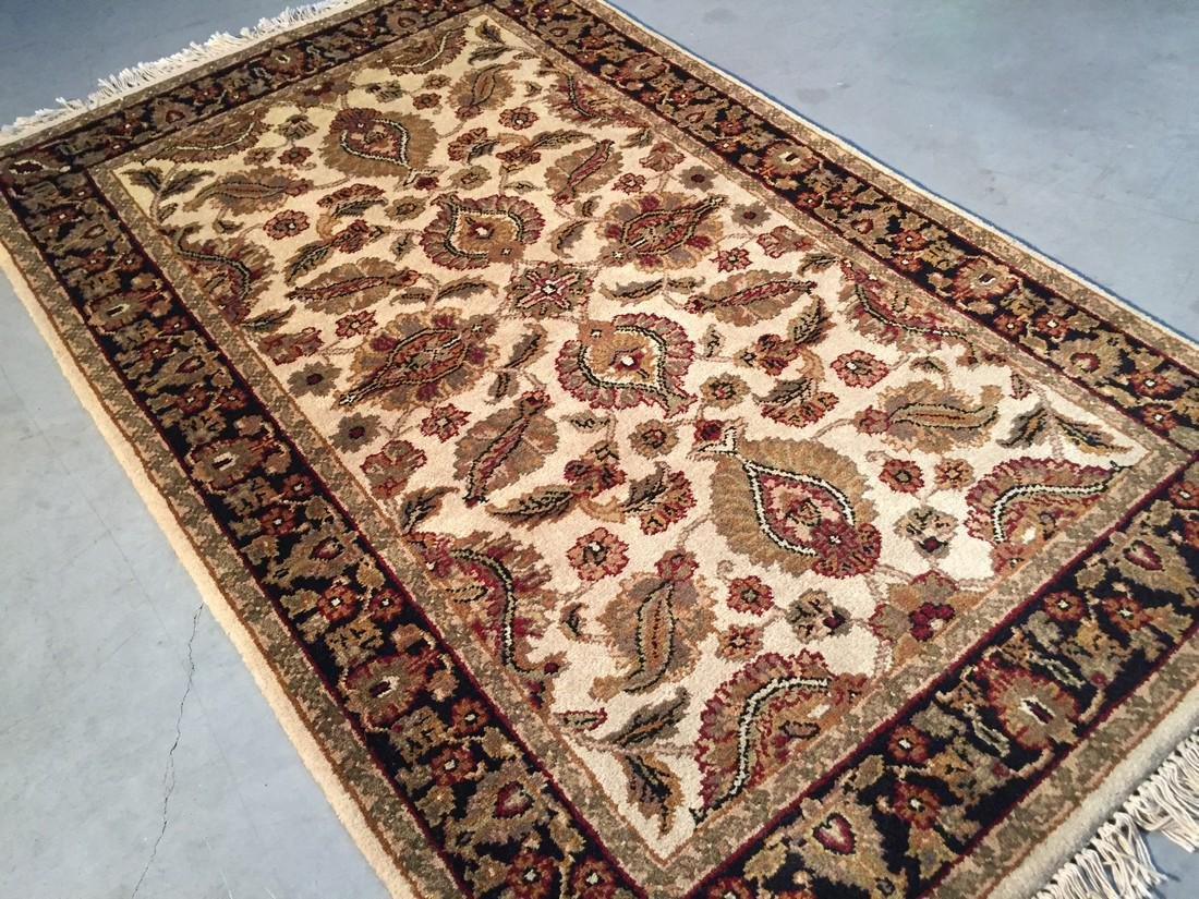 Jaipur Hand Knotted Wool Rug 3.3x5.3