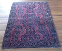 Antique Persian Wool Rug 5.1x3.58 C1930