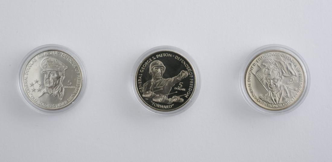 1989-1990 5 Dollar Coins