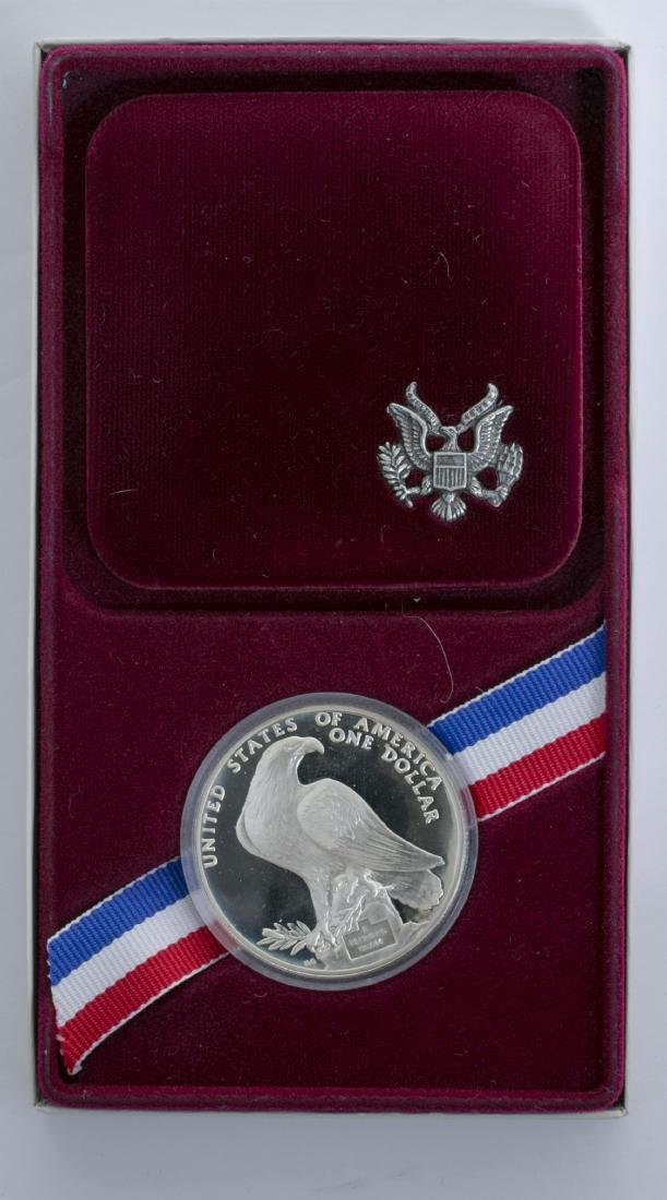 1984 Olympic Coin