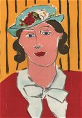 HENRI MATISSE - Femme au Chapeau