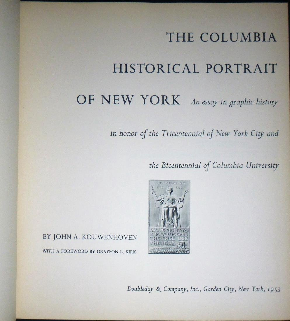 The Columbia University Historical Portrait of NY