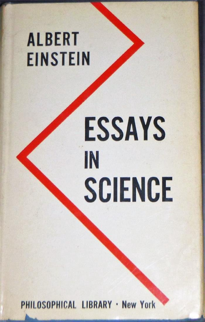 Albert Einstein - Essays In Science