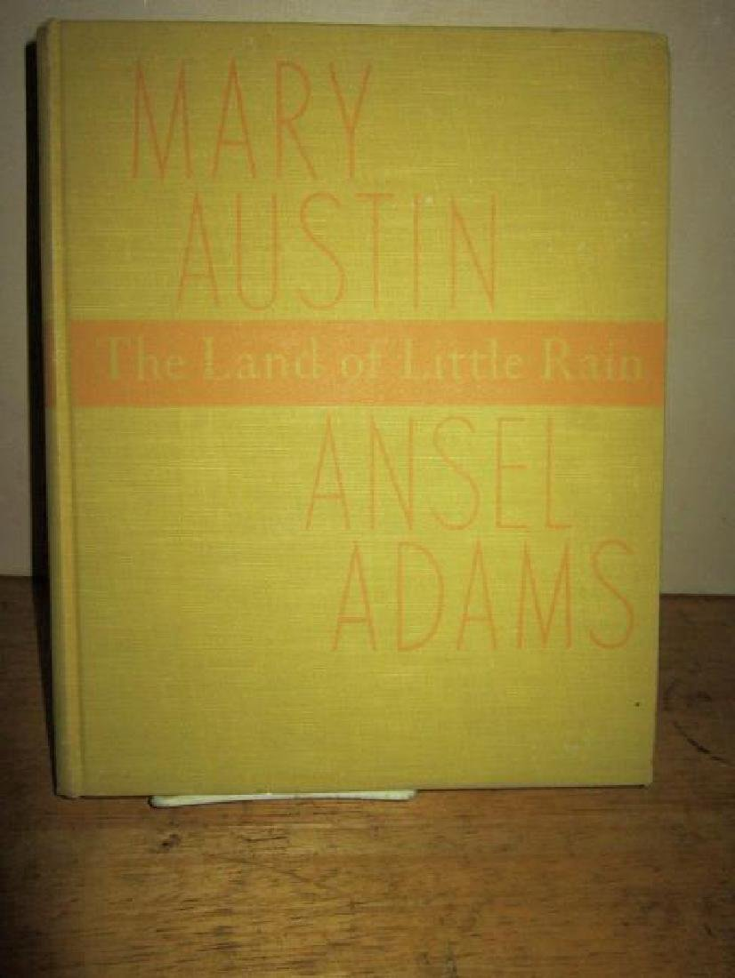 Ansel Adams & Mary Austin The Land of Little Rain I Ed