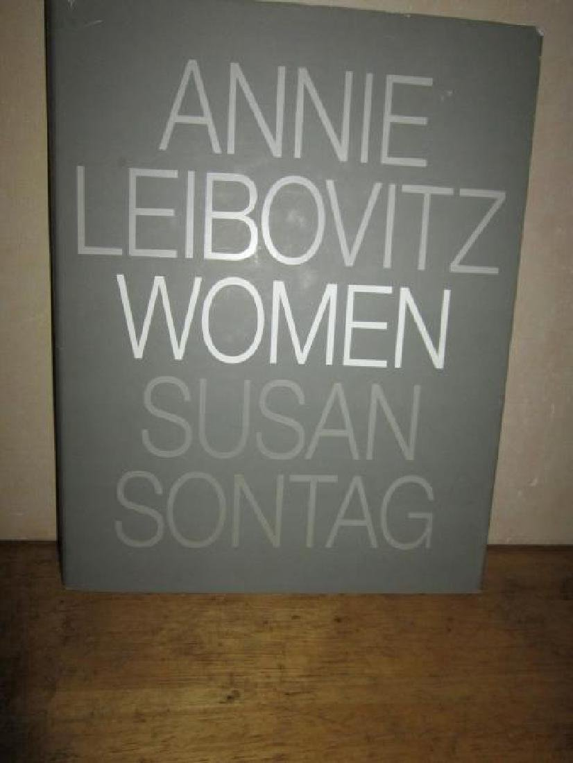 Annie Leibovitz Woman by Susan Sontag Inscribed