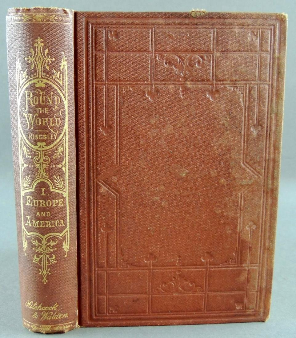 Round The World Vol. 1 Europe & America C1870