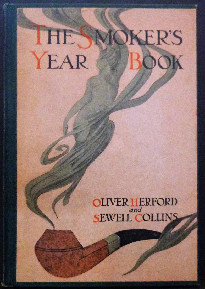 1908 - Signed 1st edition - The Smoker's Year Book