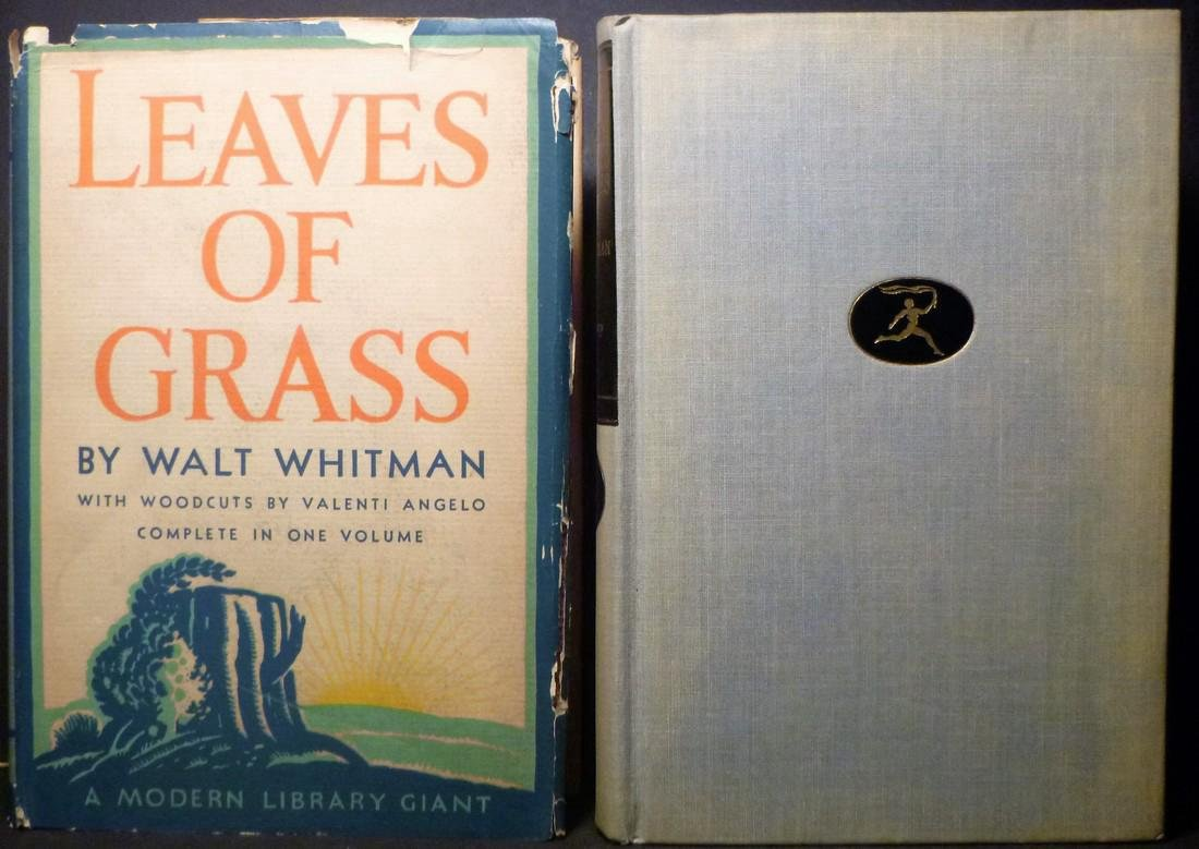 Leaves of Grass by Walt Whitman C1945