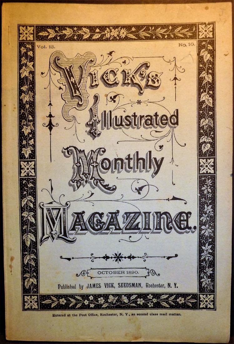 Vick's Illustrated Monthly Magazine October 1890