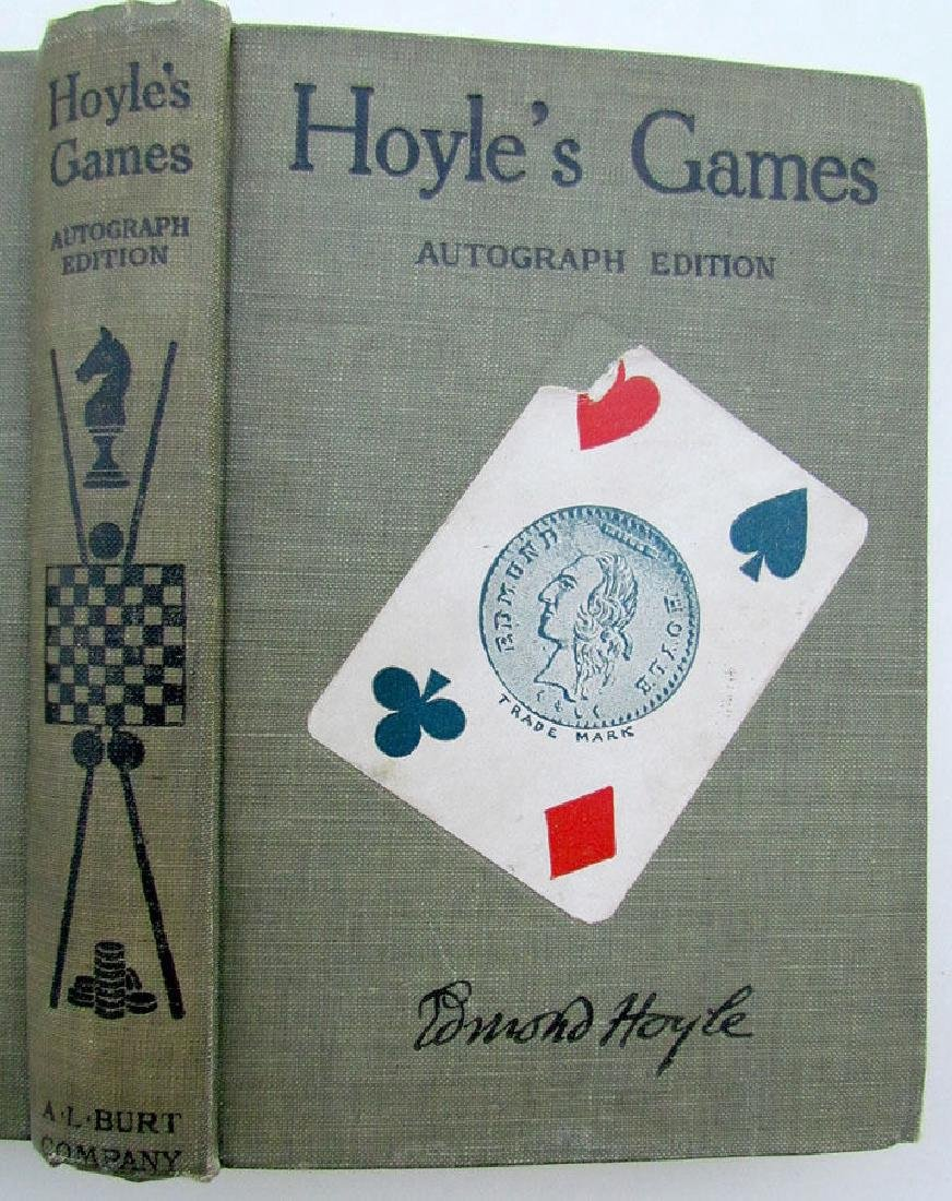 1914 Hoyle's Games Autographed Edition