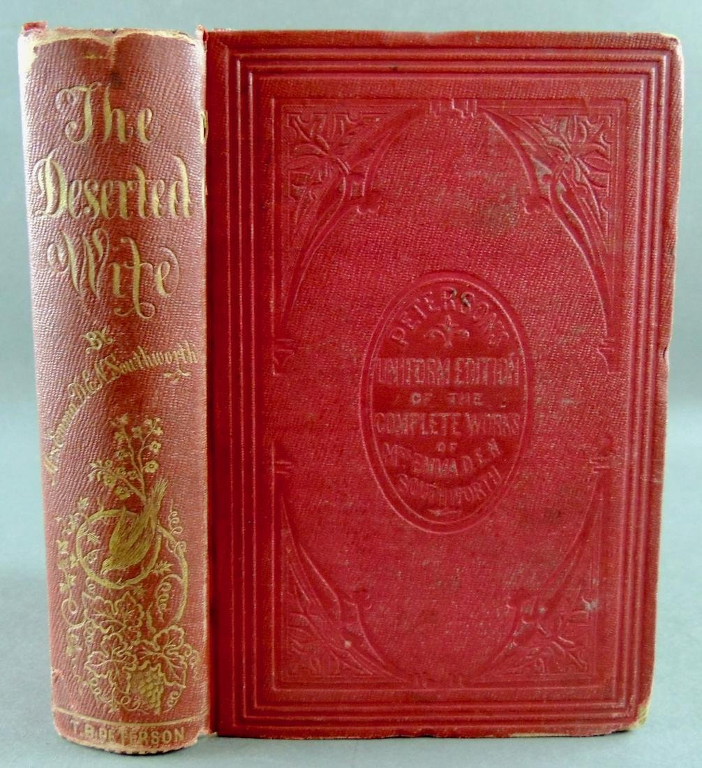 The Deserted Wife C1855 1st US Edition