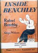 Inside Benchley by Robert Benchley Signed 1st Edition