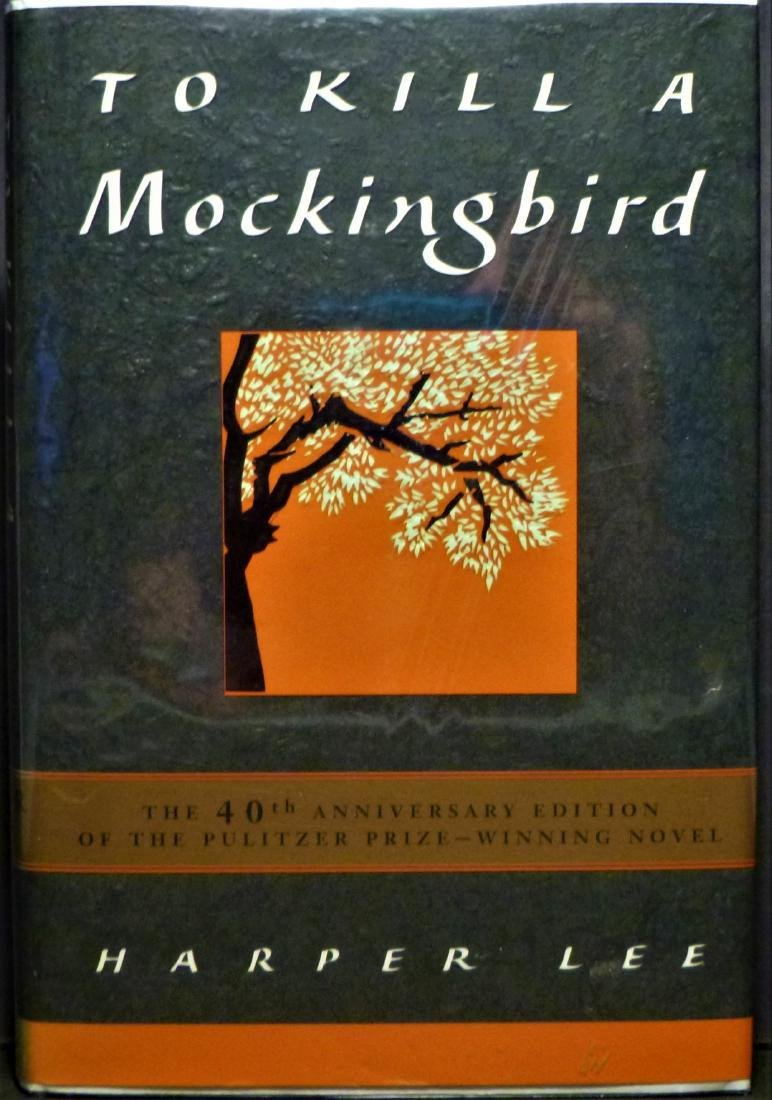 To Kill a Mockingbird Signed by Harper Lee