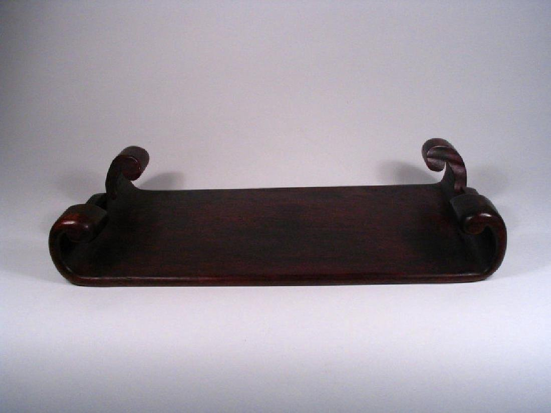 Chinese Rosewood Display Stand - 9