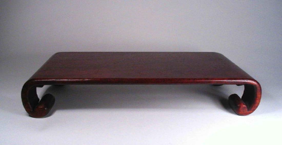 Chinese Rosewood Display Stand - 4