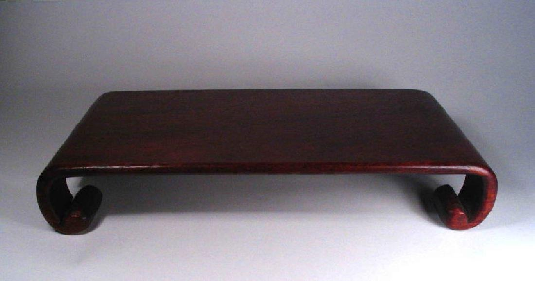 Chinese Rosewood Display Stand - 5