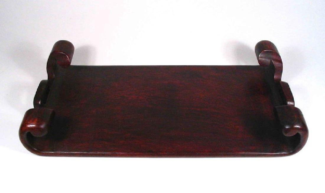 Chinese Rosewood Display Stand - 7
