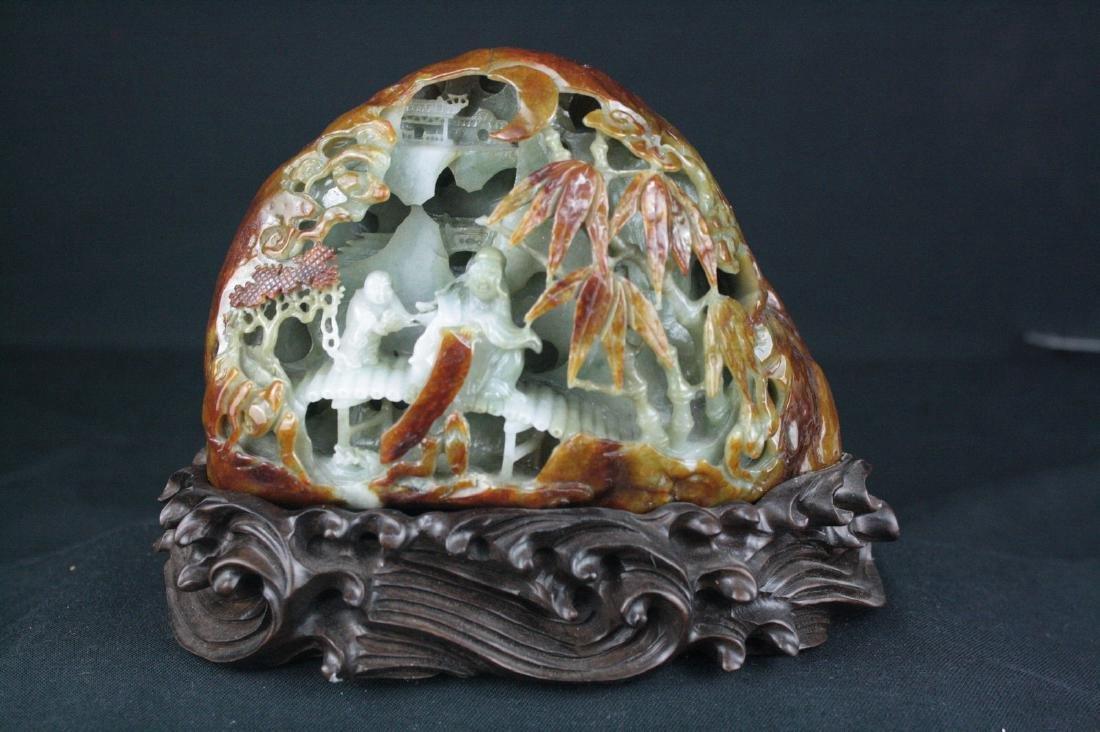 Chinese Jadeite Boulder