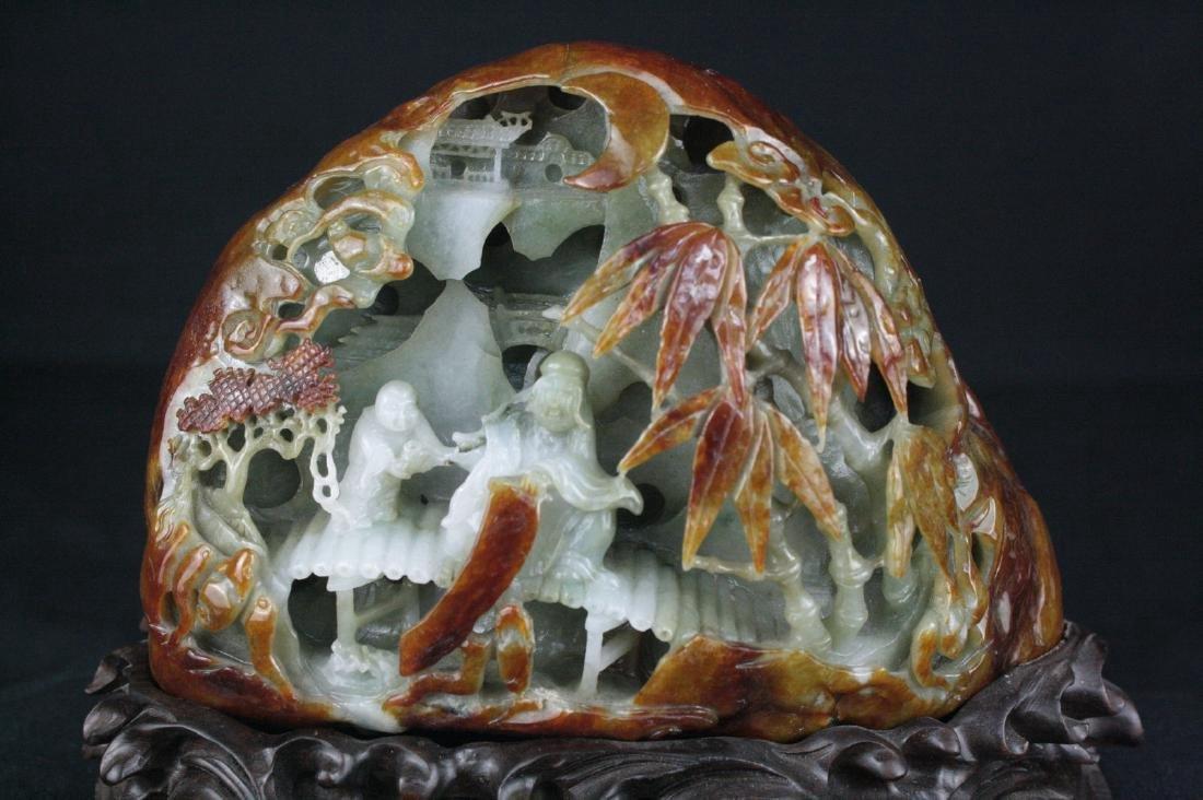 Chinese Jadeite Boulder - 2