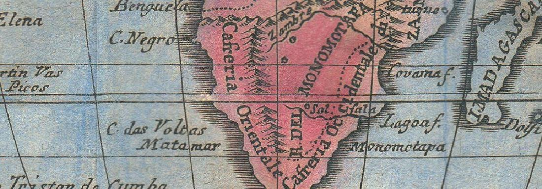 Africa Niger Flows W. Phantom St Matthew's Isl 1775 Map - 2