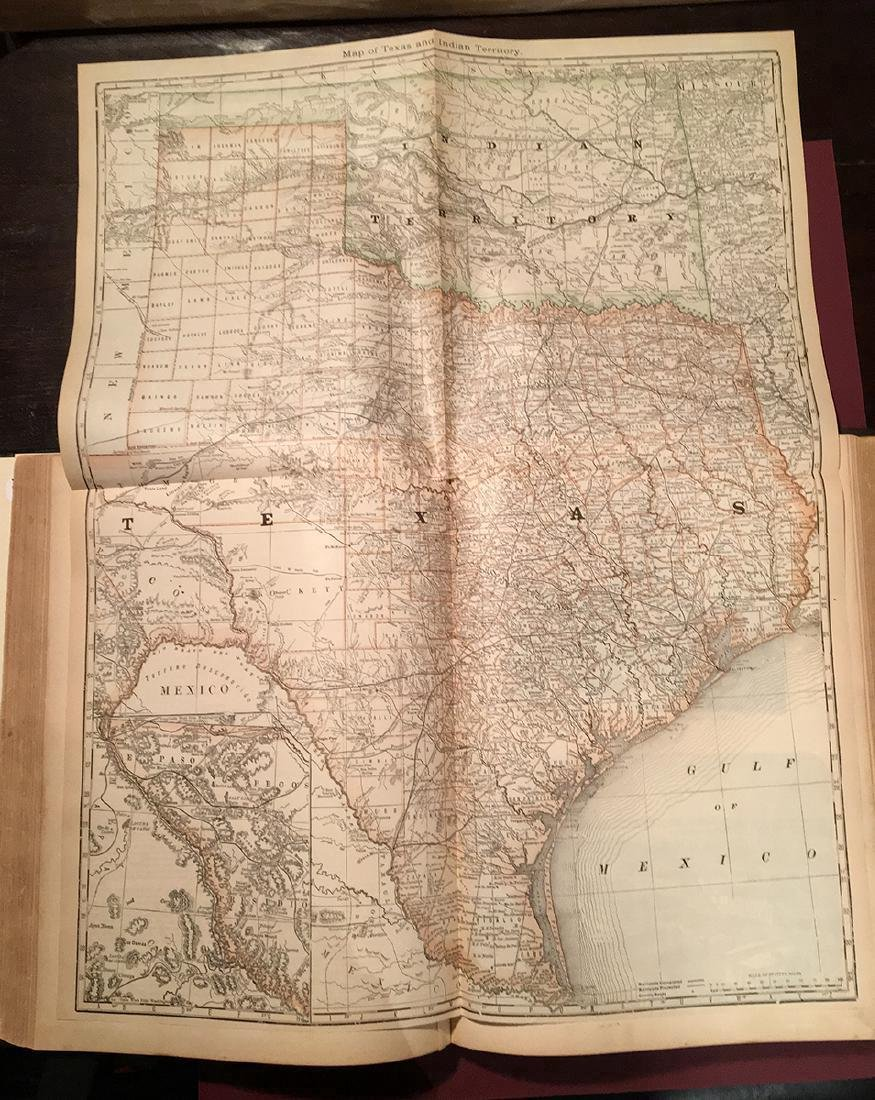 1882 Historical Hand Atlas, H. H. Hardesty Map - 5