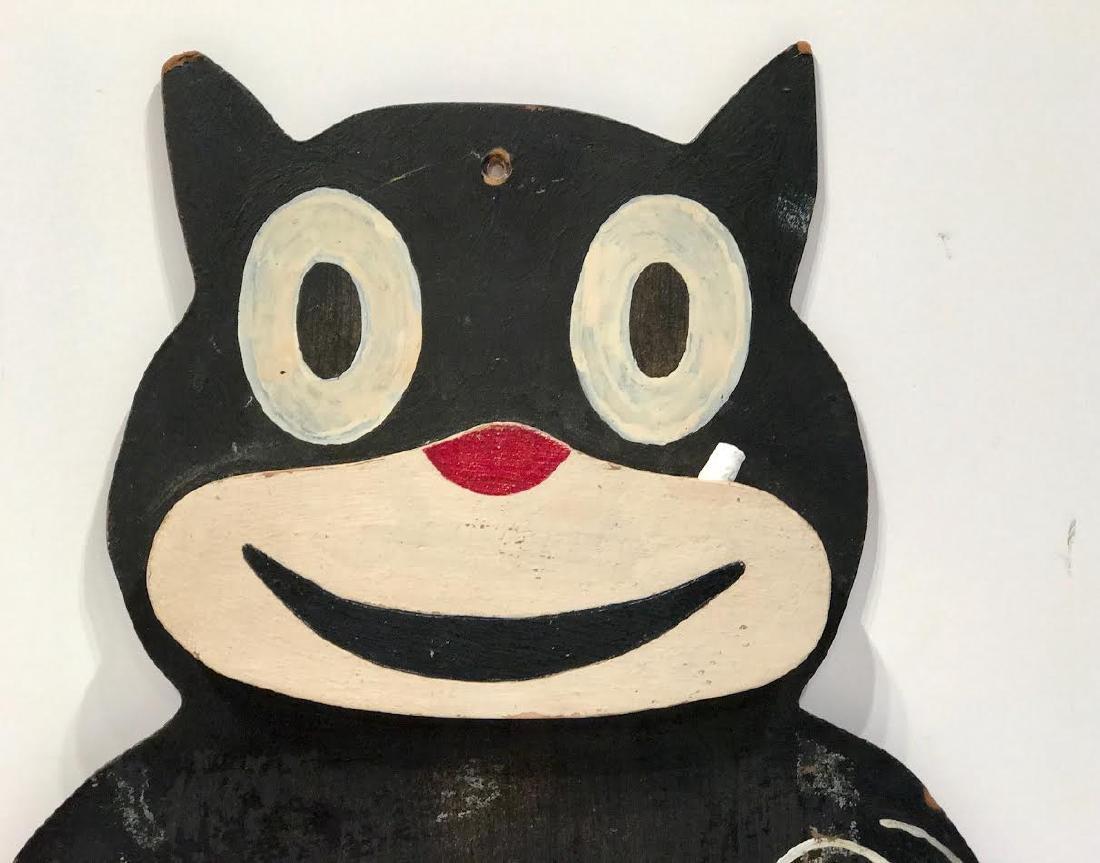 Whimsical Cat Chalkboard - 2