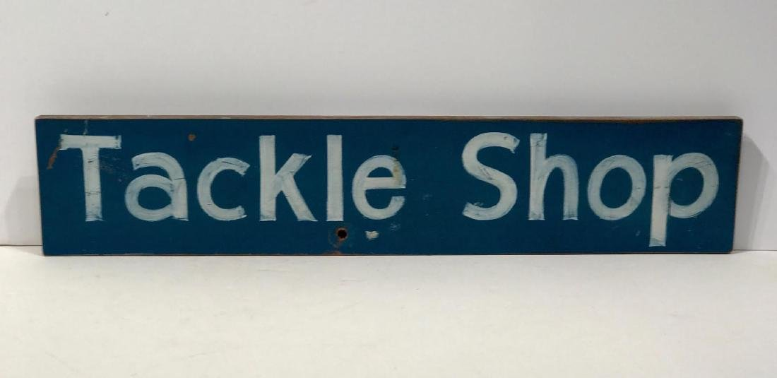 Tackle Shop Trade Sign