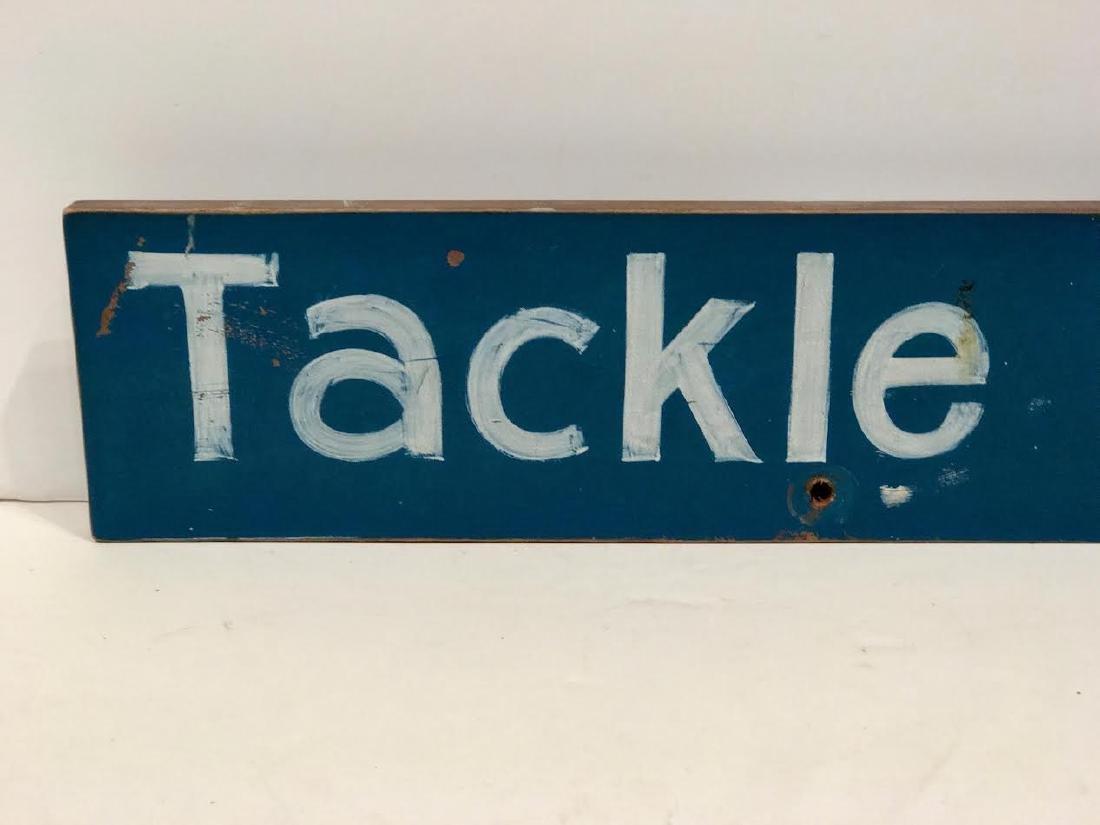 Tackle Shop Trade Sign - 2