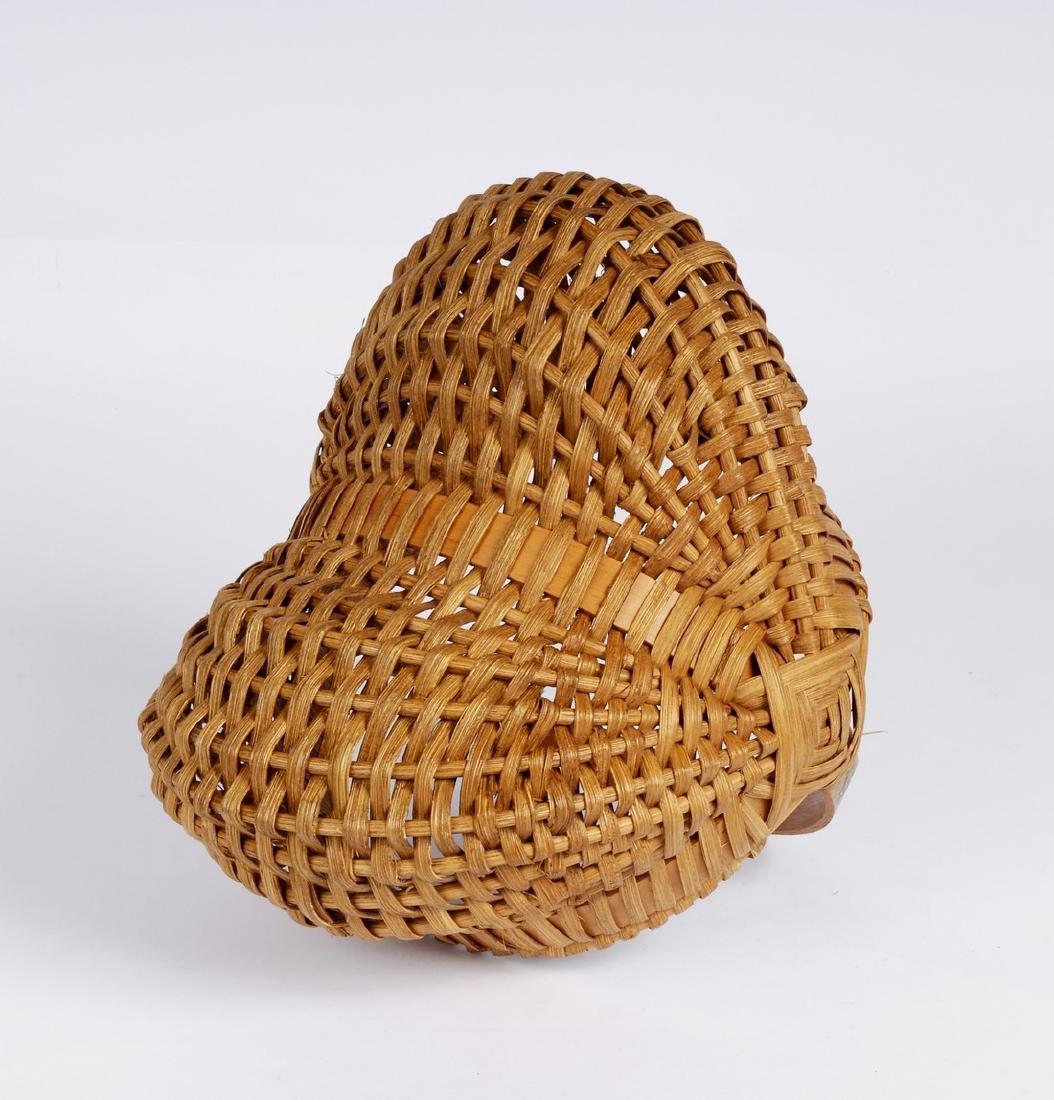 Woven Wooden Basket - 3