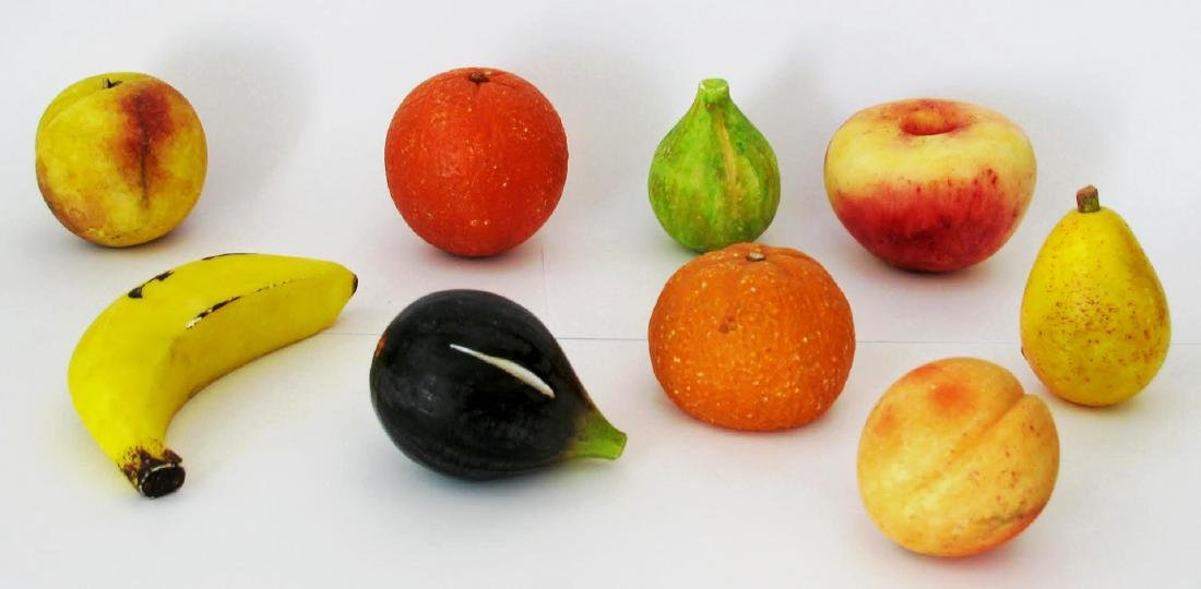 Collection Of Stone Fruit.