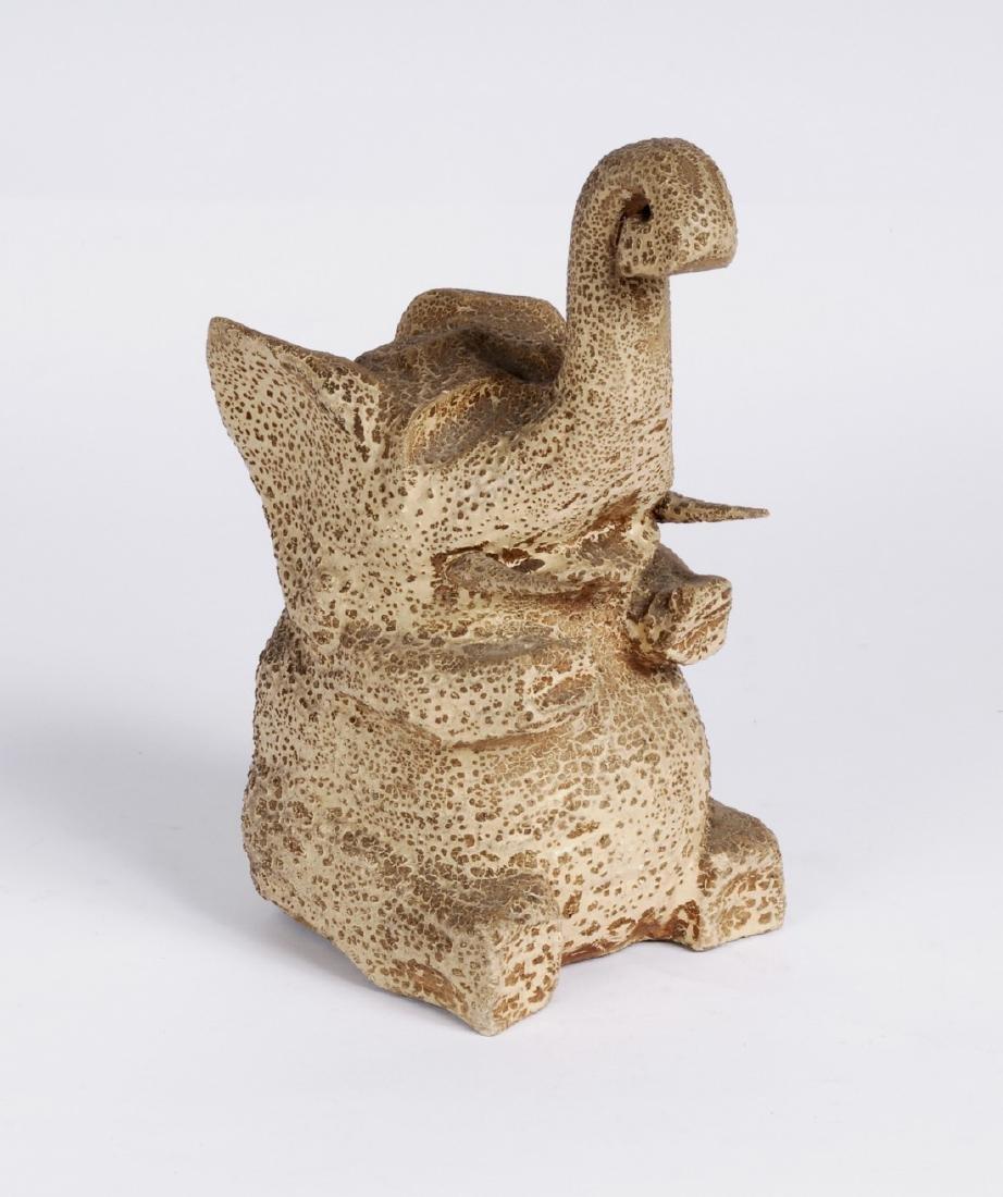 Carved Elephant Circa 1920s