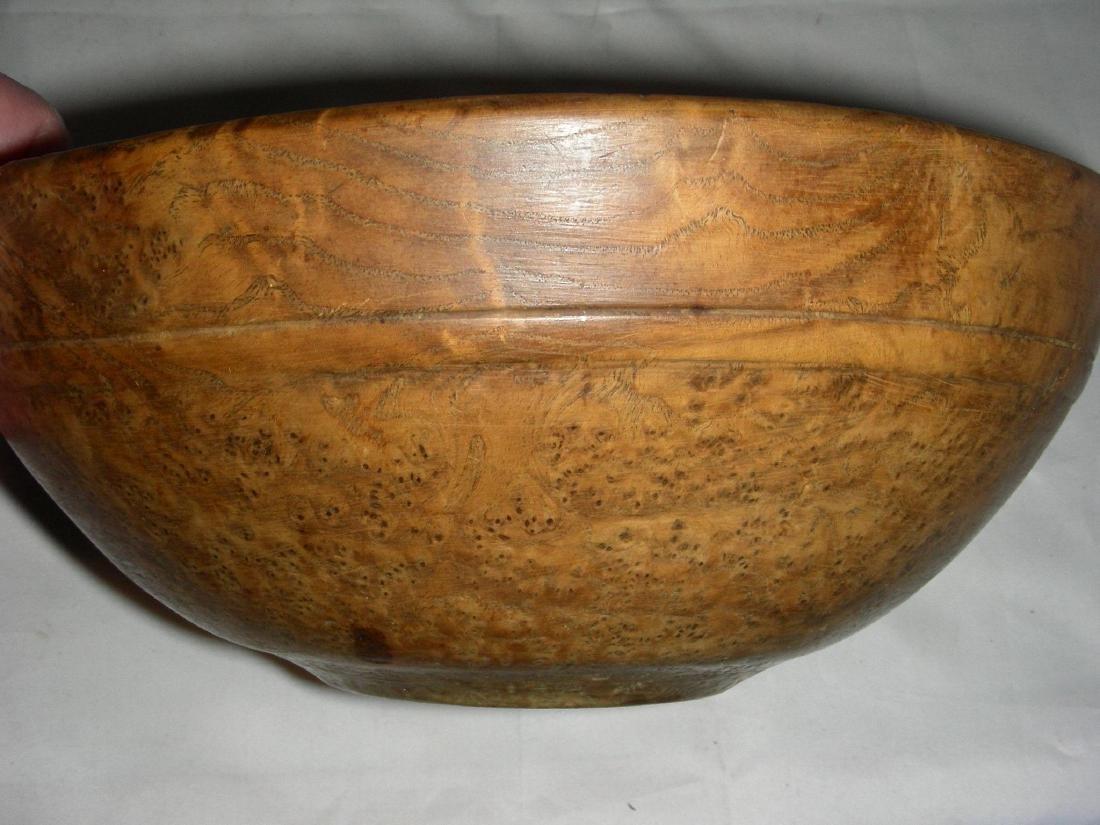 Small American Ash Burl Bowl, 19th century - 6