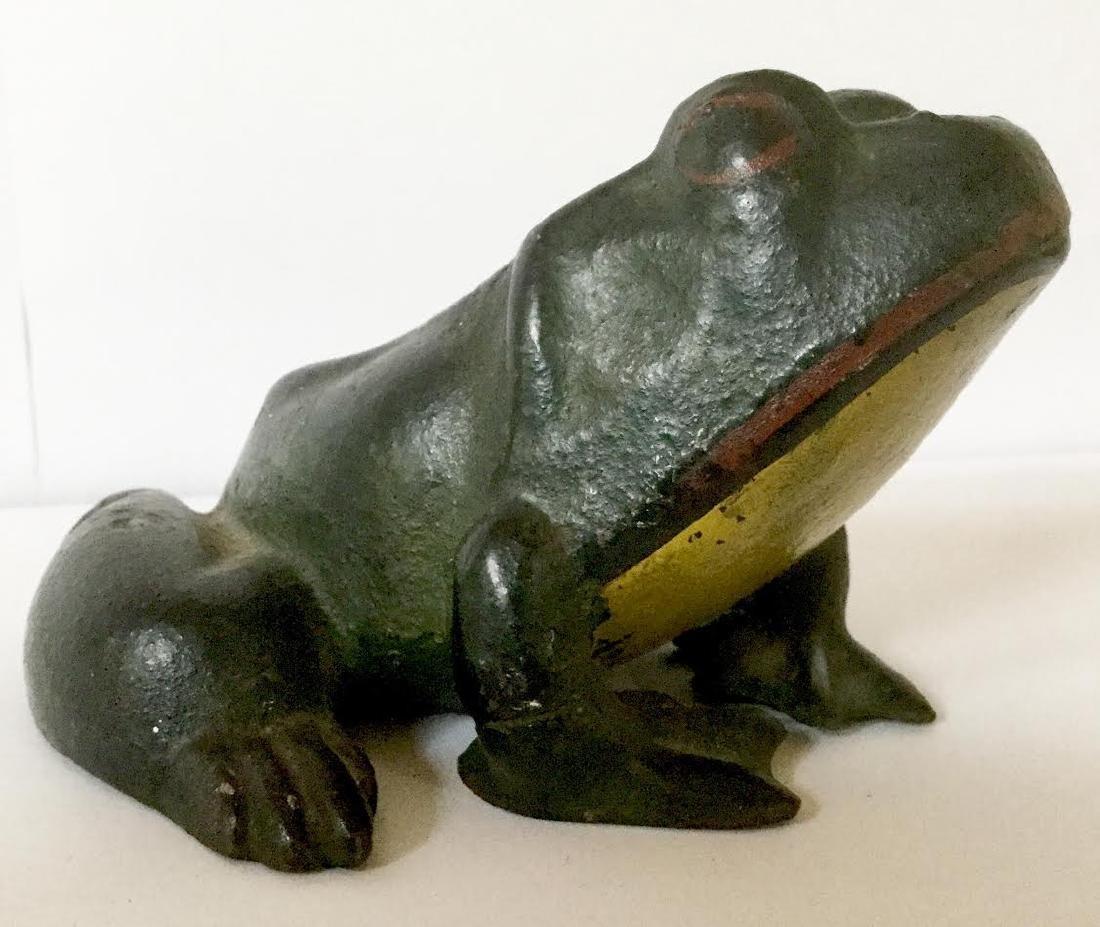 Cast Iron Frog Doorstop