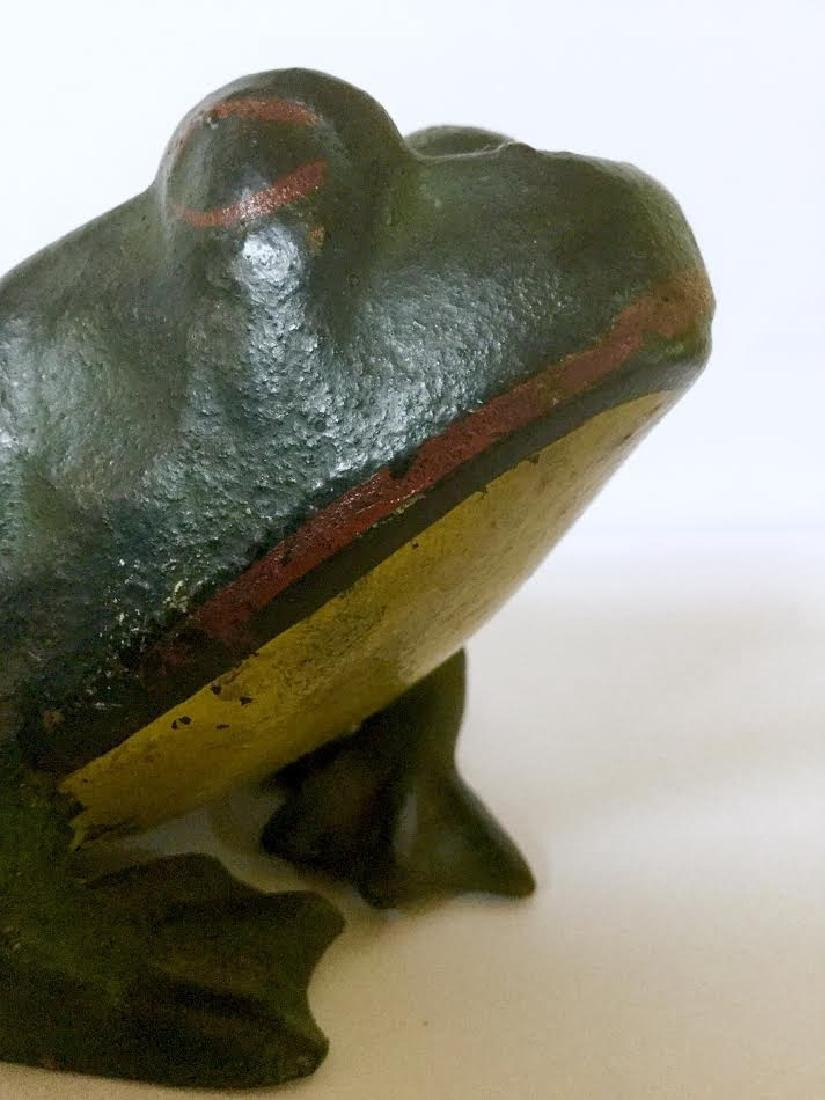 Cast Iron Frog Doorstop - 2