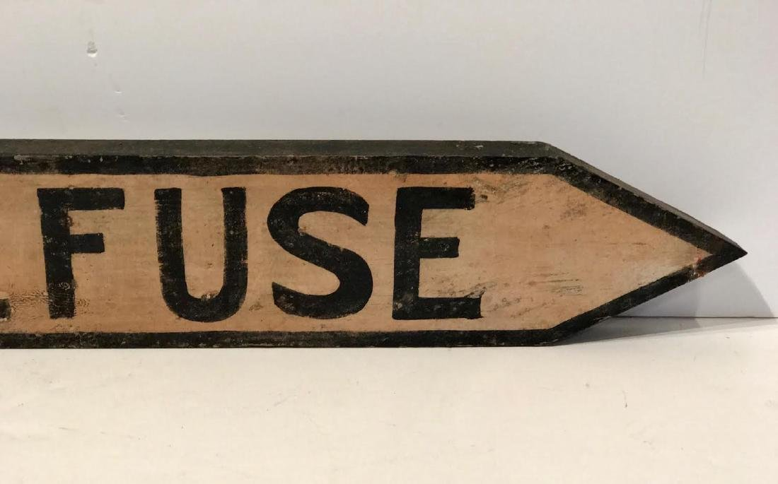 Refuse Trade Sign (Extenuate) - 3