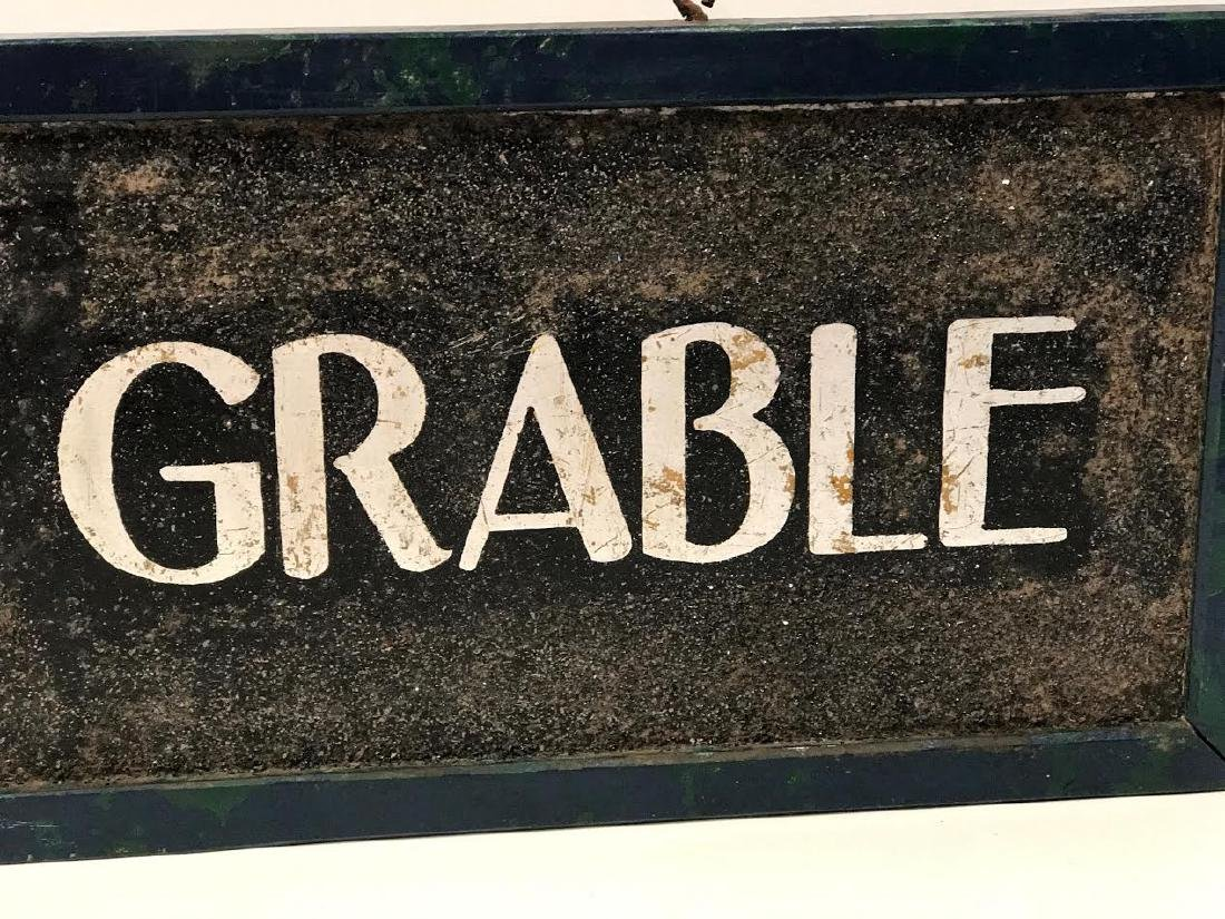Betty Grable Horse Stall Sign - 3
