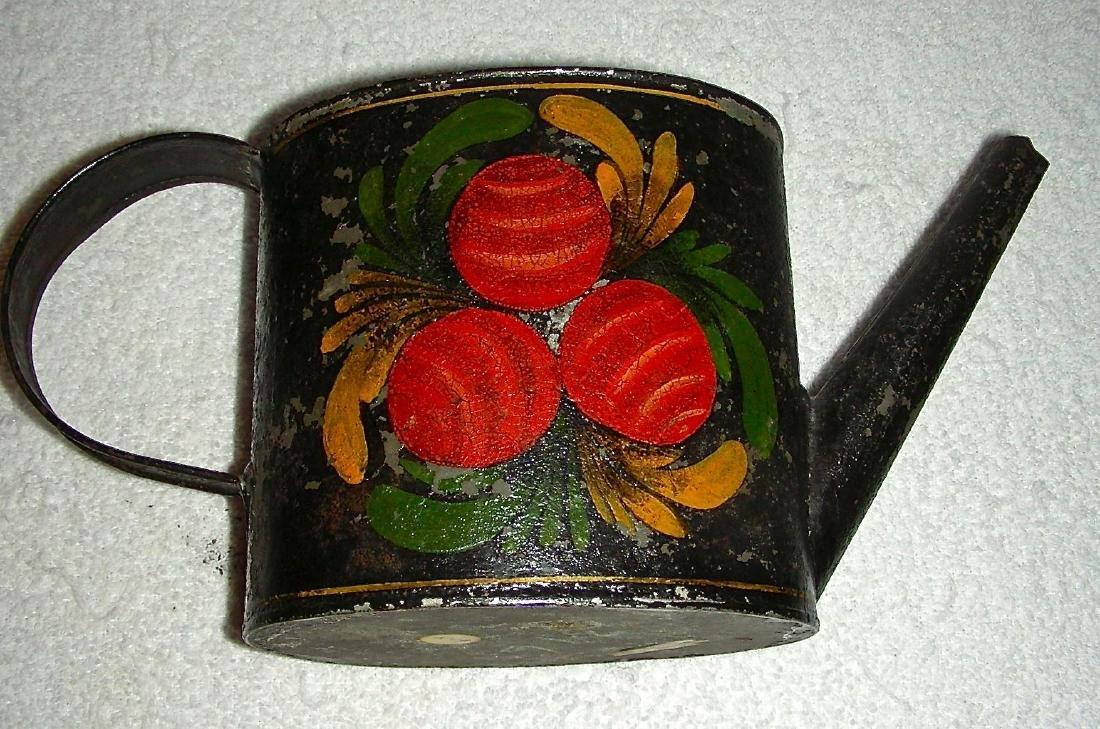 Decorated Toleware (Tin) Teapot, c. 1840-1860 - 4